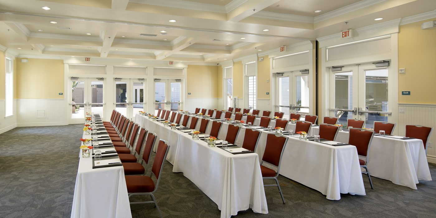 Point San Luis Meeting and Event Space Classroom Set Up