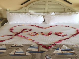 Marriage proposal at Avila Lighthouse Suites