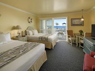 Avila Lighthouse Suites Oceanview Suite with Two Queen Beds